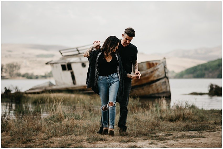 Pt. Reyes Engagement Photographer