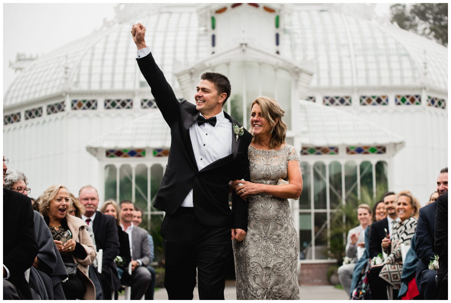 San Francisco Wedding at the Conservatory of Flowers